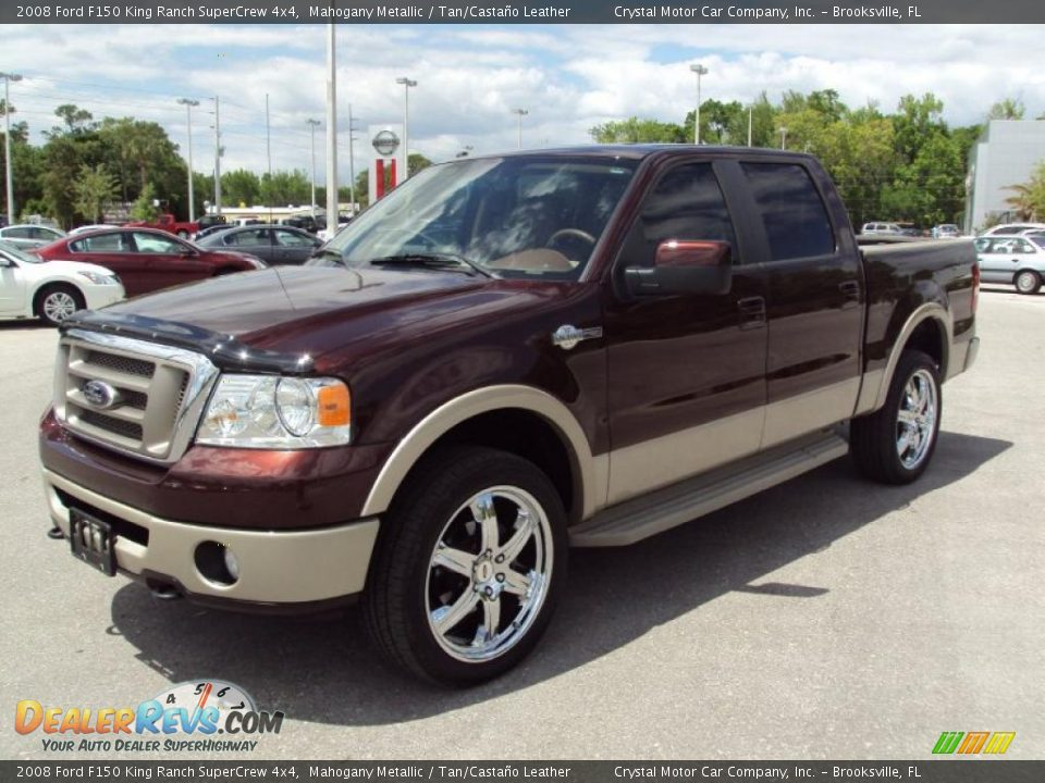 2008 ford f150 king ranch supercrew 4x4 mahogany metallic for Motor king auto sales