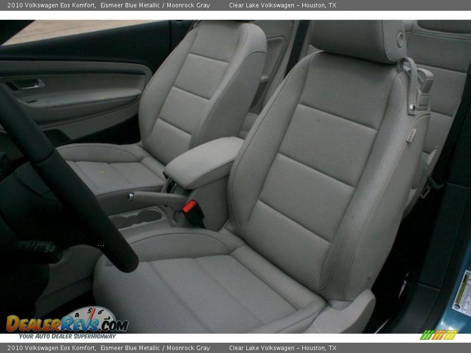 2010 volkswagen eos komfort eismeer blue metallic