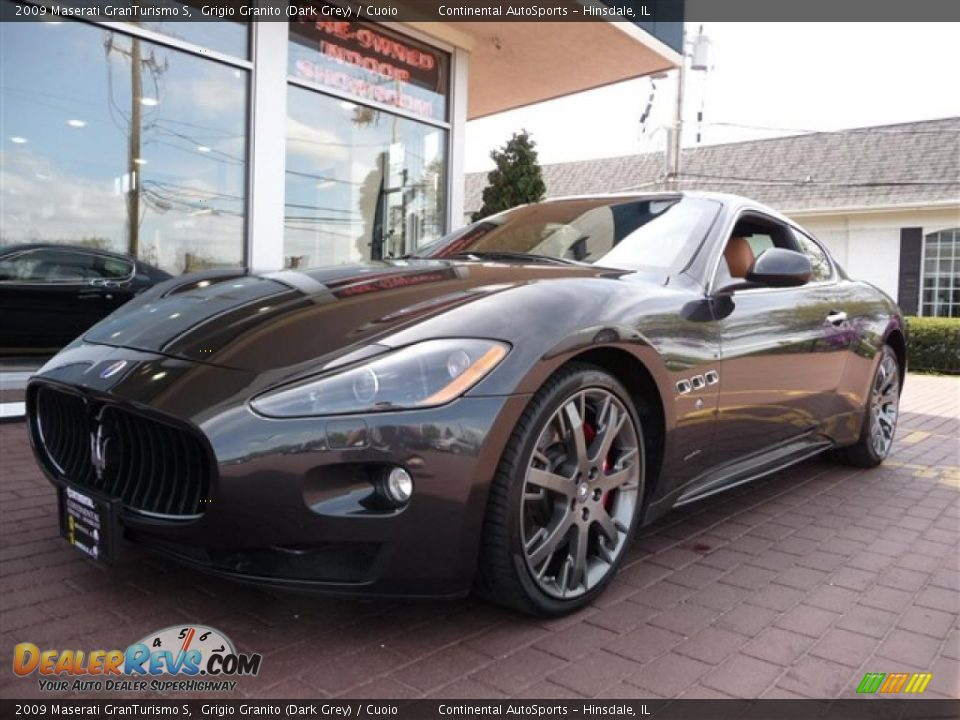 2009 maserati granturismo s grigio granito dark grey. Black Bedroom Furniture Sets. Home Design Ideas
