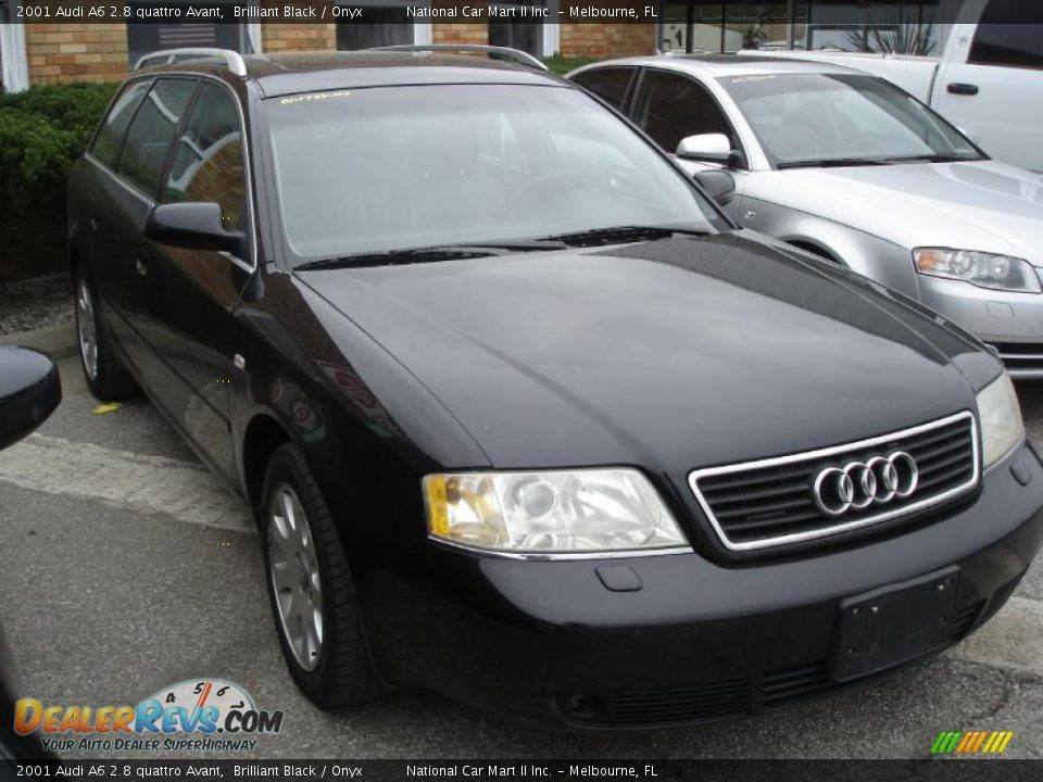 2001 audi a6 2 8 quattro avant brilliant black onyx. Black Bedroom Furniture Sets. Home Design Ideas