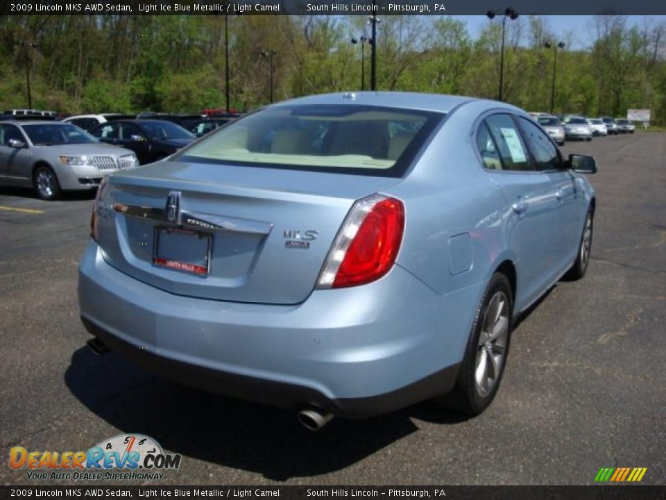2009 lincoln mks awd sedan light ice blue metallic light. Black Bedroom Furniture Sets. Home Design Ideas