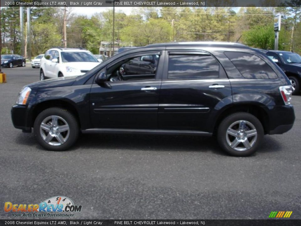 2008 chevrolet equinox ltz awd black light gray photo 9. Cars Review. Best American Auto & Cars Review