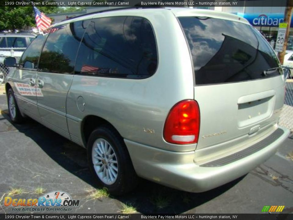 1999 chrysler town country lx light cypress green pearl camel photo 5 dealerrevs com dealerrevs com