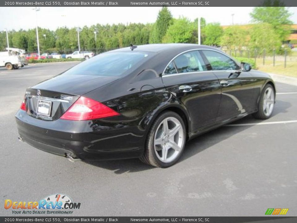 2010 mercedes benz cls 550 obsidian black metallic black for 2010 mercedes benz cls