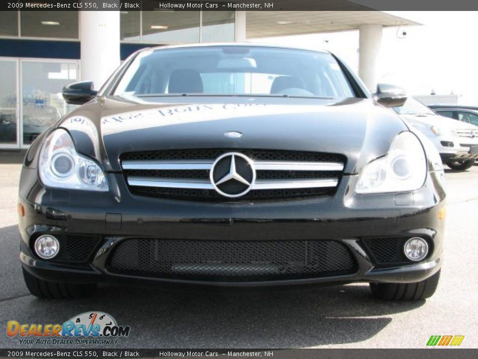 2009 mercedes benz cls 550 black black photo 2. Black Bedroom Furniture Sets. Home Design Ideas