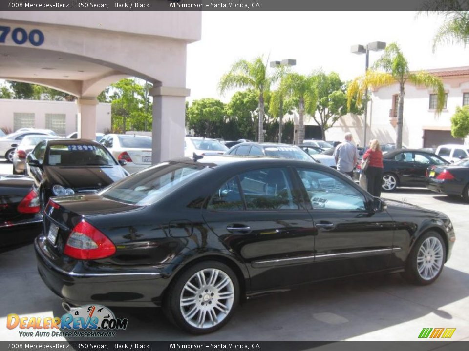 2008 mercedes benz e 350 sedan black black photo 2 for Mercedes benz e 350 2008