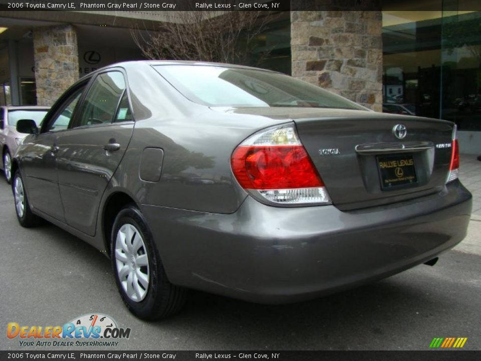 2006 toyota camry le phantom gray pearl stone gray photo 4. Black Bedroom Furniture Sets. Home Design Ideas