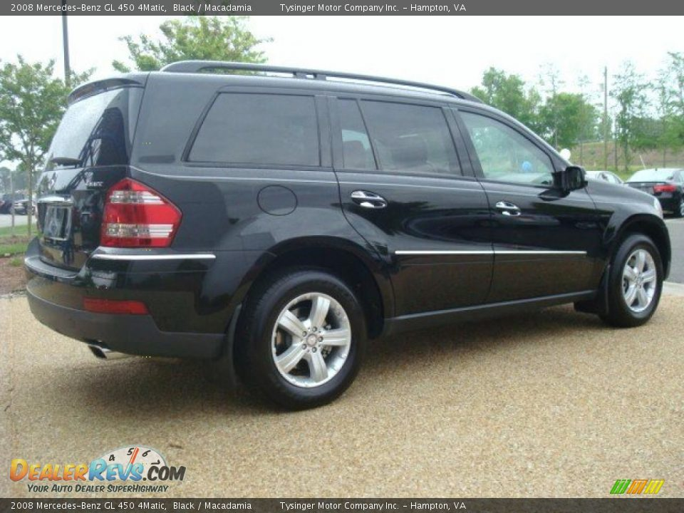 2008 mercedes benz gl 450 4matic black macadamia photo 6. Black Bedroom Furniture Sets. Home Design Ideas