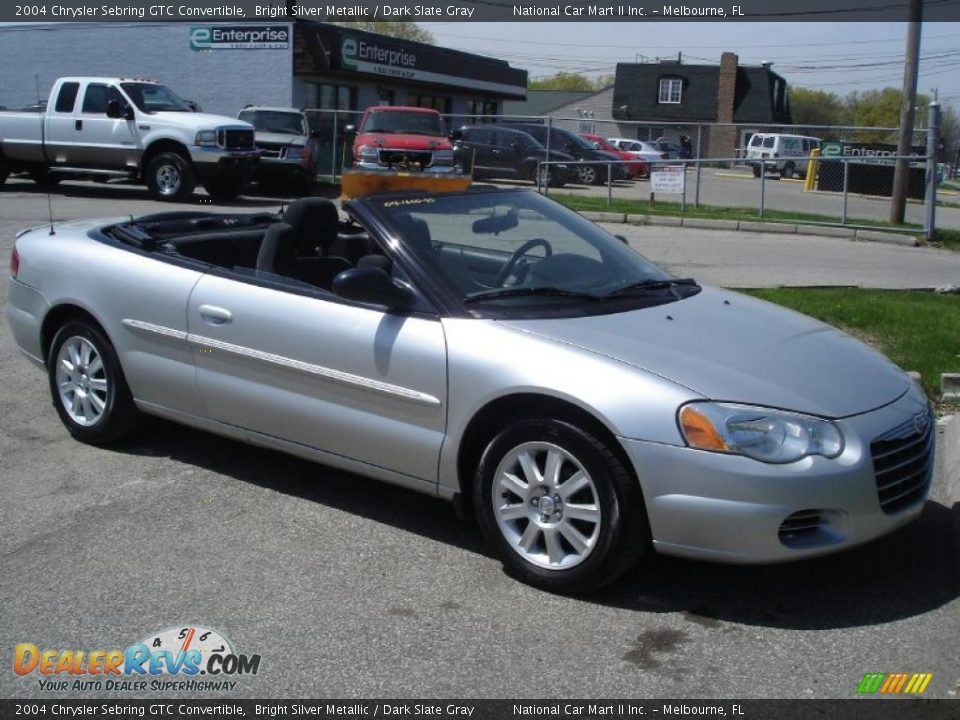 2004 chrysler sebring gtc convertible bright silver metallic dark. Cars Review. Best American Auto & Cars Review