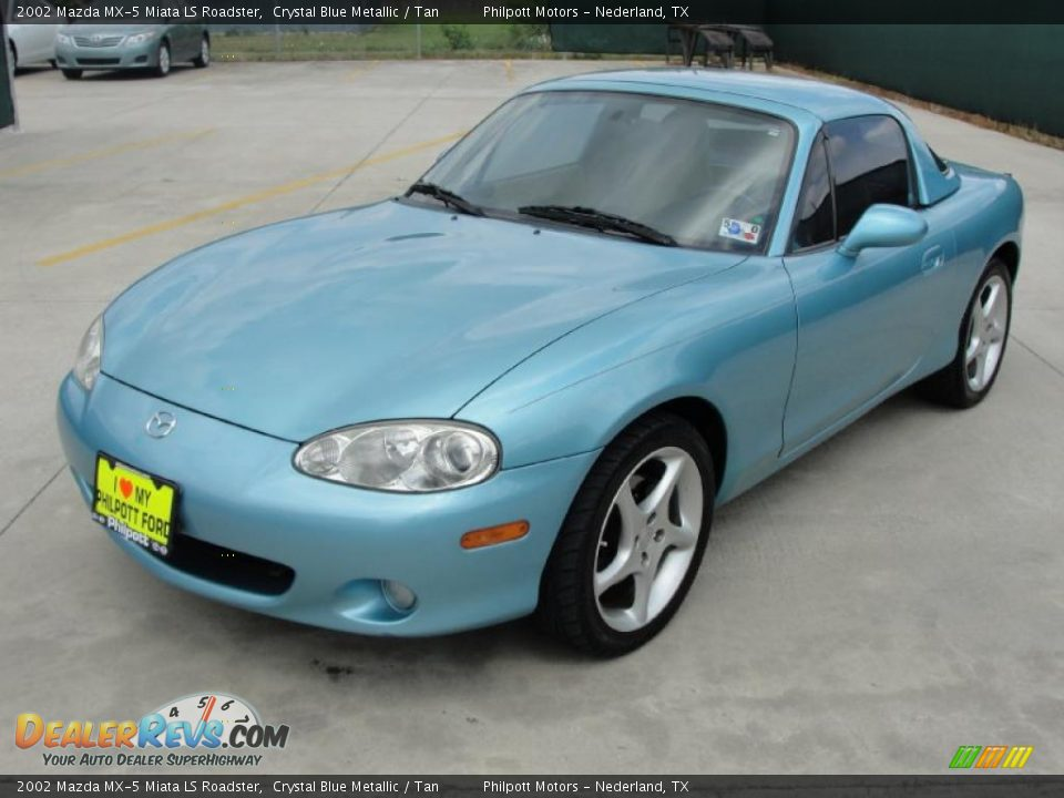 2002 mazda mx 5 miata ls roadster crystal blue metallic. Black Bedroom Furniture Sets. Home Design Ideas