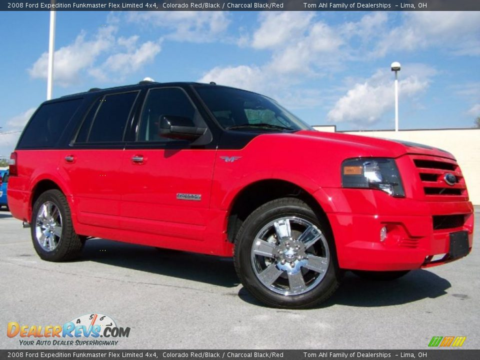 2008 Ford Expedition Funkmaster Flex Limited 4x4 Colorado Red/Black ...