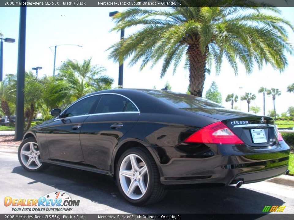 2008 Mercedes Benz Cls 550 Black Black Photo 8