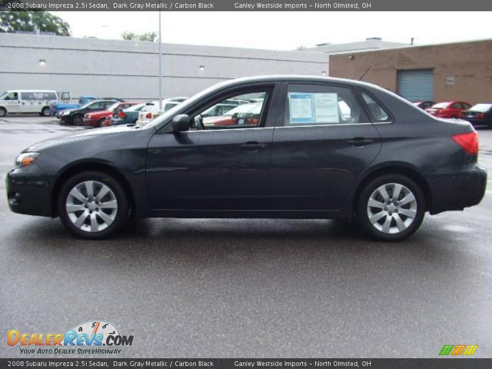 Used Subaru Impreza >> 2008 Subaru Impreza 2.5i Sedan Dark Gray Metallic / Carbon ...