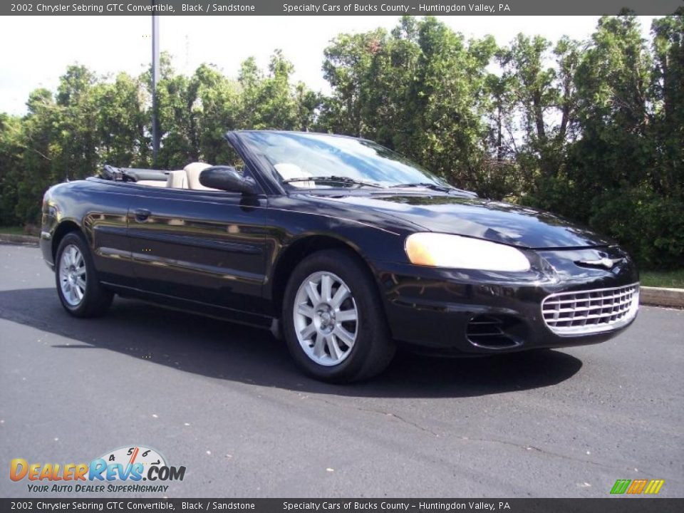 2002 chrysler sebring gtc convertible black sandstone photo 3. Cars Review. Best American Auto & Cars Review