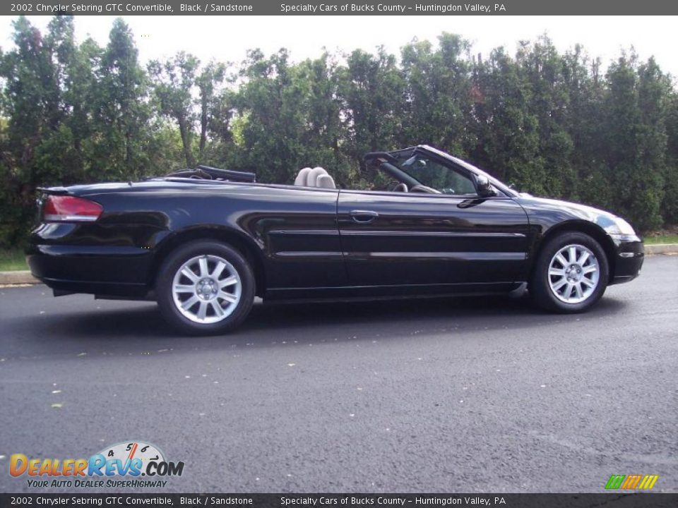 2002 chrysler sebring gtc convertible black sandstone photo 8. Cars Review. Best American Auto & Cars Review
