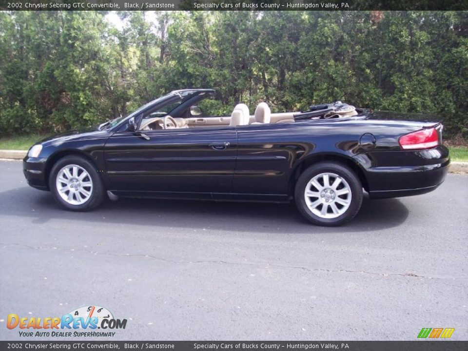 2002 chrysler sebring gtc convertible black sandstone photo 16. Cars Review. Best American Auto & Cars Review