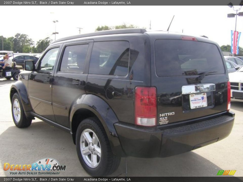 2007 dodge nitro slt black dark slate gray photo 3. Black Bedroom Furniture Sets. Home Design Ideas