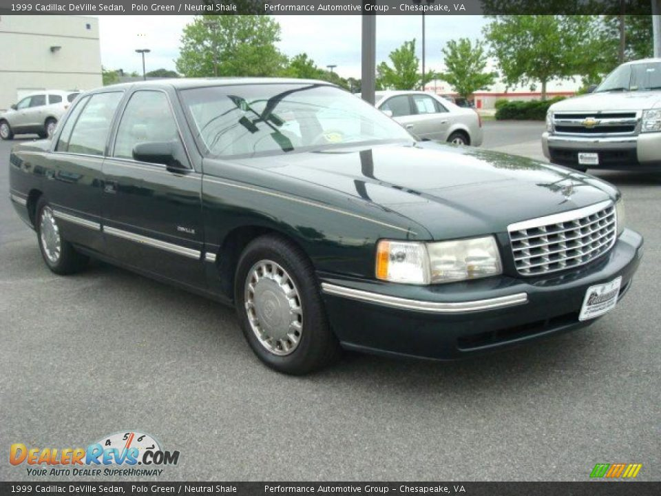 1999 cadillac deville sedan polo green neutral shale photo 8. Cars Review. Best American Auto & Cars Review