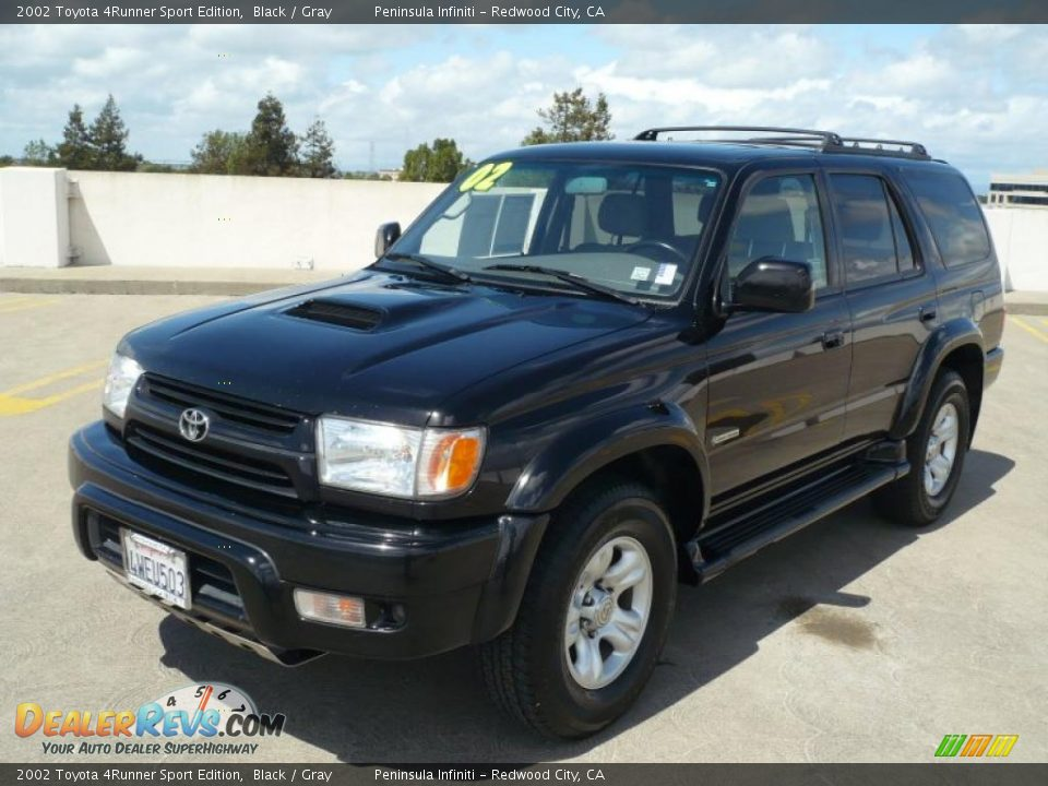 2002 toyota 4runner sport edition black gray photo 3. Black Bedroom Furniture Sets. Home Design Ideas