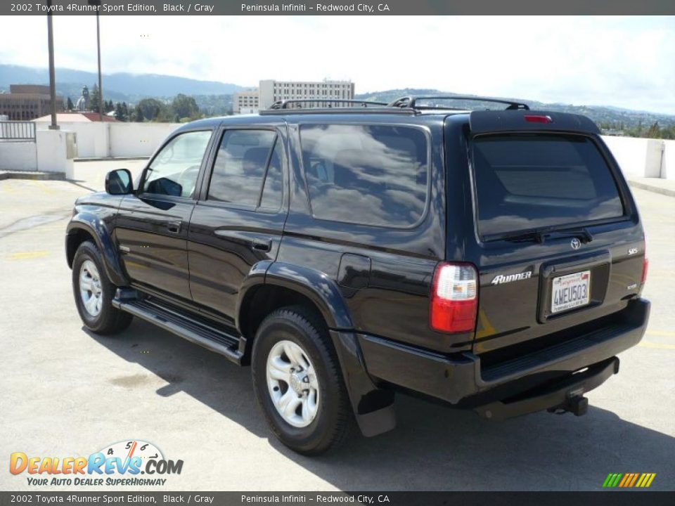 2002 toyota 4runner sport edition black gray photo 5. Black Bedroom Furniture Sets. Home Design Ideas
