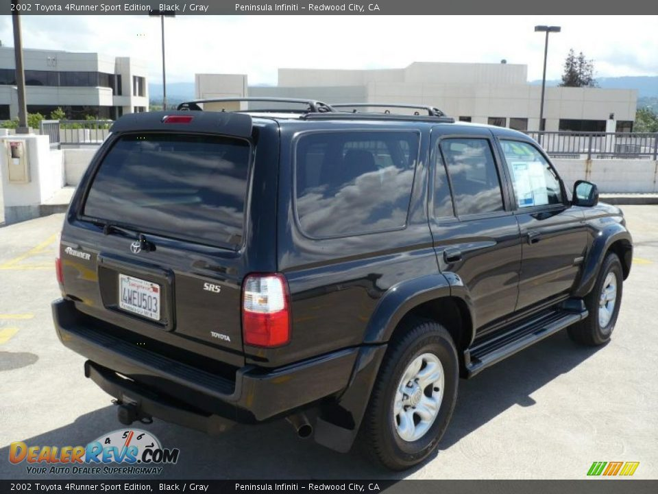 2002 toyota 4runner sport edition black gray photo 7. Black Bedroom Furniture Sets. Home Design Ideas