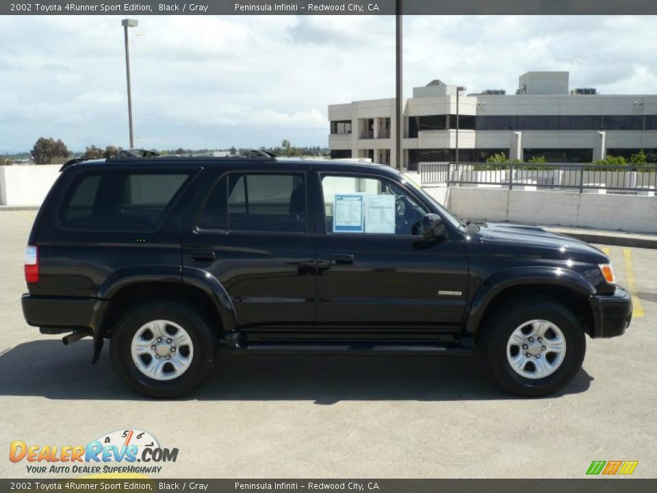 2002 toyota 4runner sport edition black gray photo 8. Black Bedroom Furniture Sets. Home Design Ideas