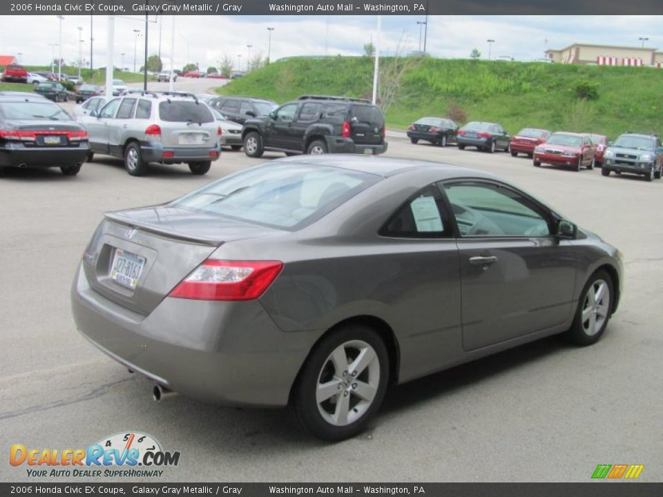 2006 honda civic ex coupe galaxy gray metallic gray photo 6. Black Bedroom Furniture Sets. Home Design Ideas