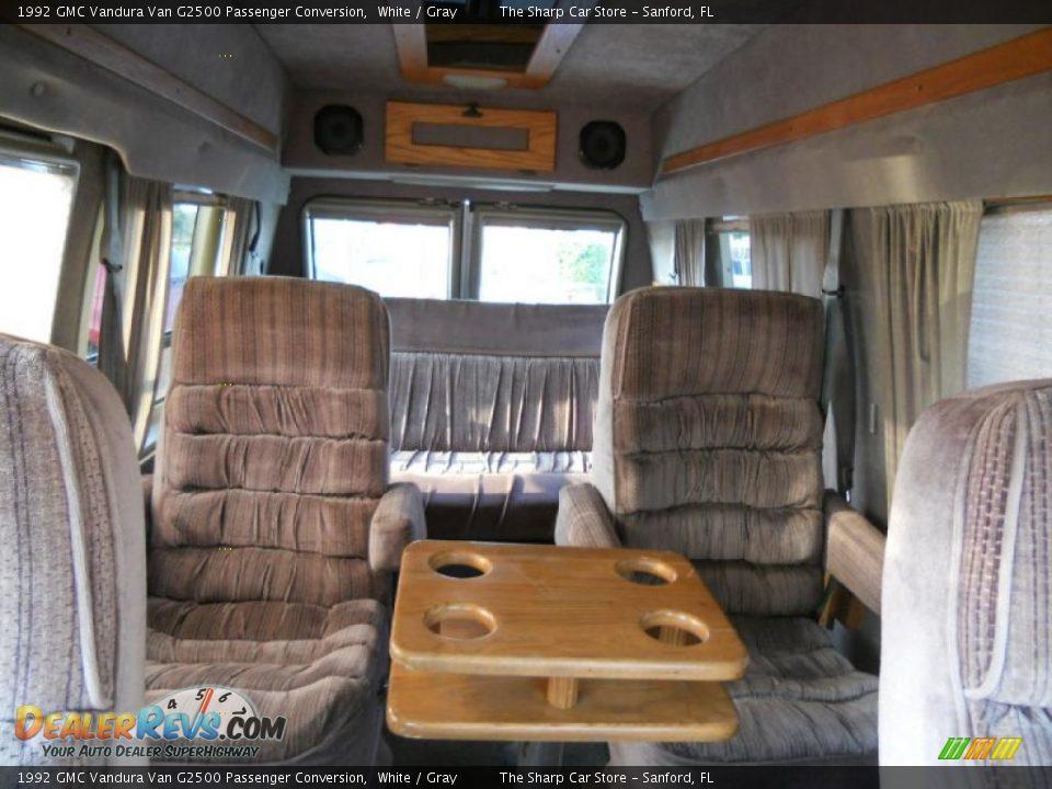 1992 Gmc Vandura Van G2500 Passenger Conversion White