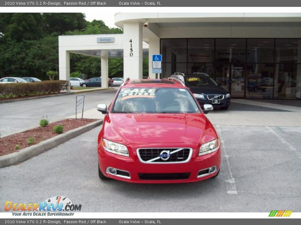 2010 Volvo V70 3.2 R-Design Passion Red / Off Black Photo #2 ...