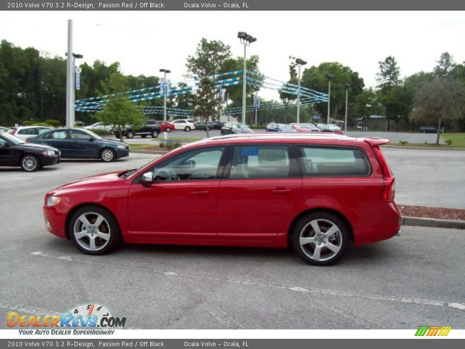 2010 Volvo V70 3.2 R-Design Passion Red / Off Black Photo #5 ...