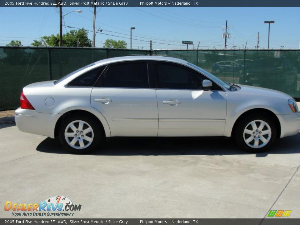 2005 ford five hundred sel awd silver frost metallic shale grey photo 2. Black Bedroom Furniture Sets. Home Design Ideas