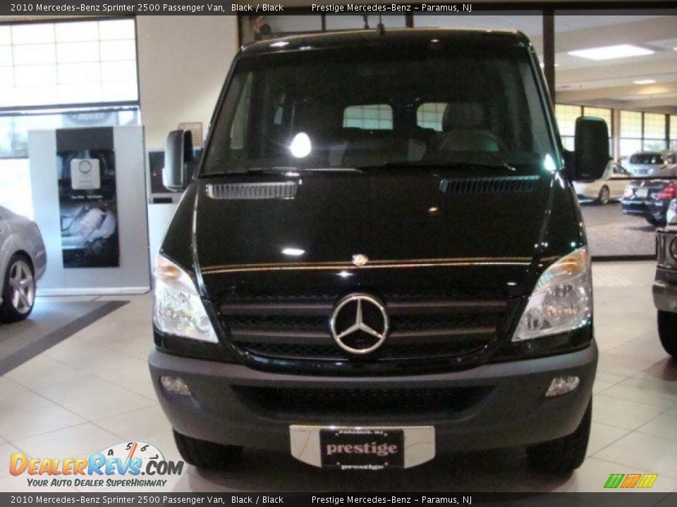 2010 mercedes benz sprinter 2500 passenger van black for Mercedes benz sprinter service