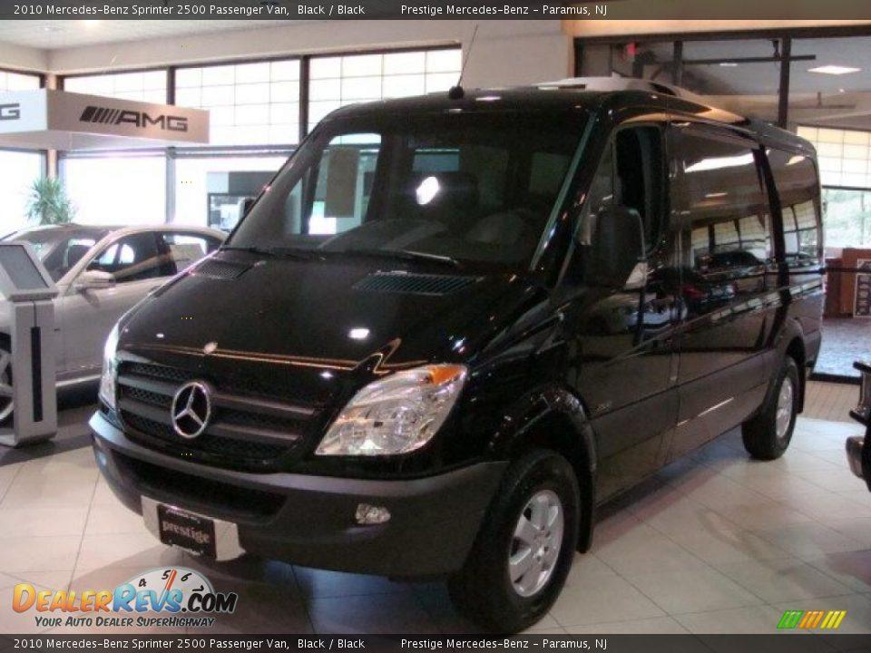 2010 Mercedes Benz Sprinter 2500 Passenger Van Black
