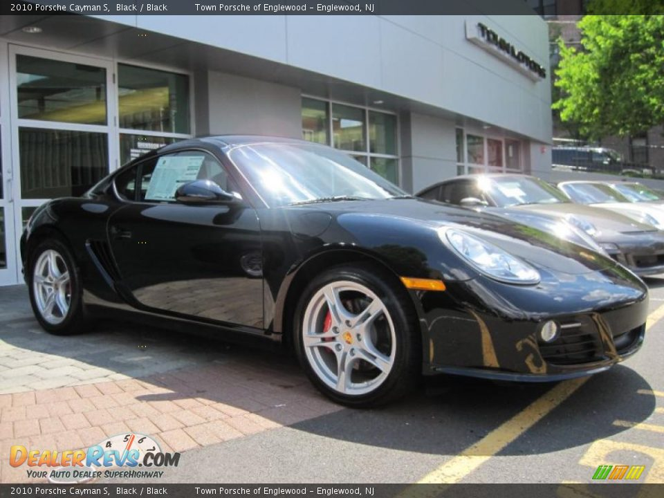 2010 porsche cayman s black black photo 1. Black Bedroom Furniture Sets. Home Design Ideas