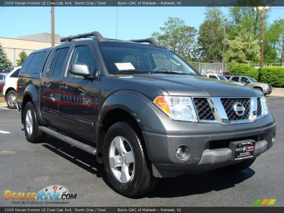 2006 nissan frontier le crew cab 4x4 storm gray steel photo 7. Black Bedroom Furniture Sets. Home Design Ideas