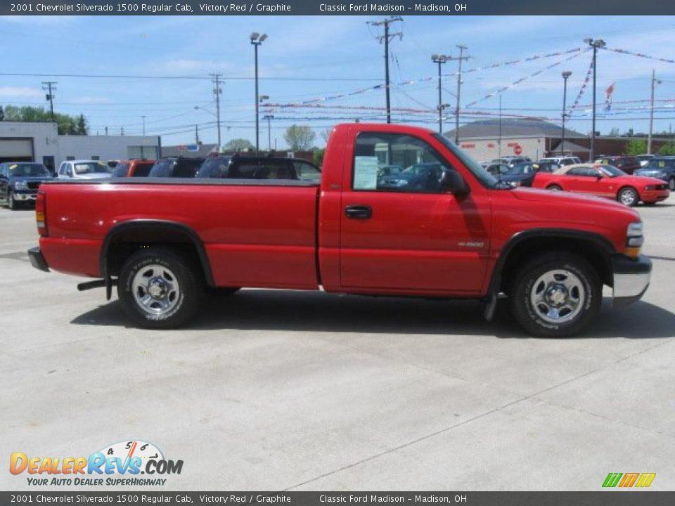 2001 Chevrolet Silverado 1500 Regular Cab Victory Red