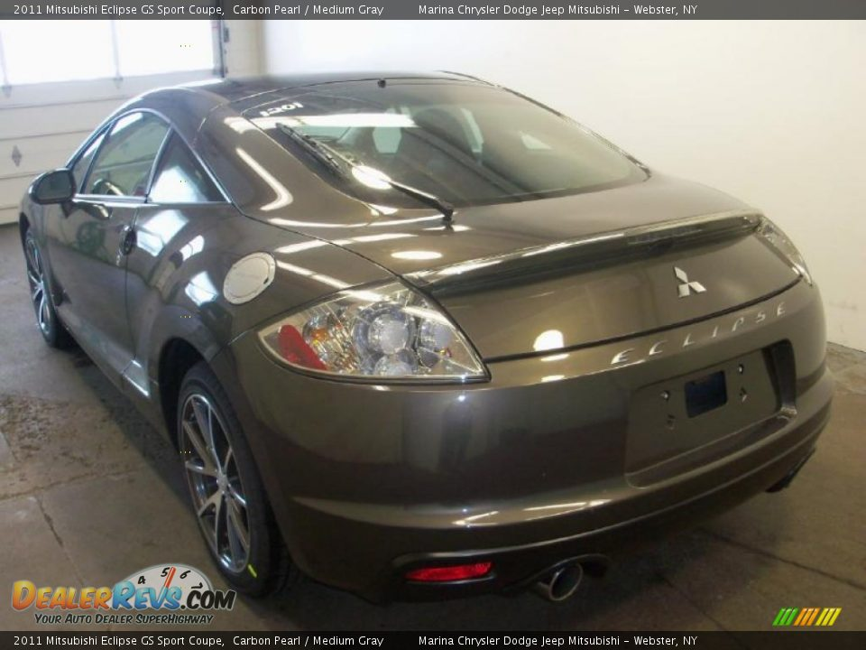 2011 mitsubishi eclipse gs sport coupe carbon pearl medium gray photo 7. Black Bedroom Furniture Sets. Home Design Ideas