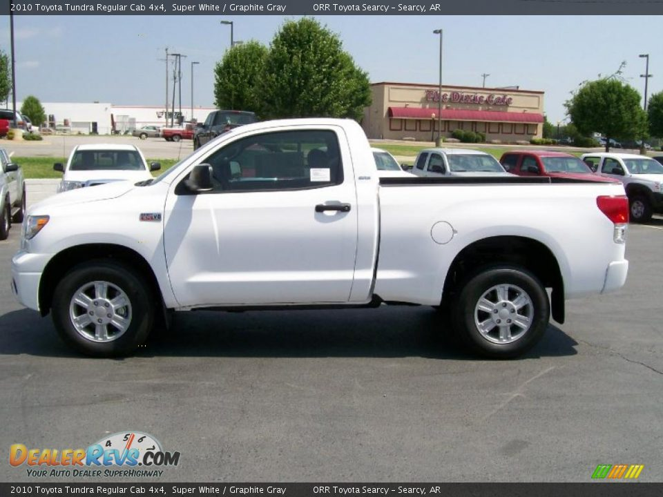 2010 toyota tundra regular cab 4x4 super white graphite gray photo 5. Black Bedroom Furniture Sets. Home Design Ideas