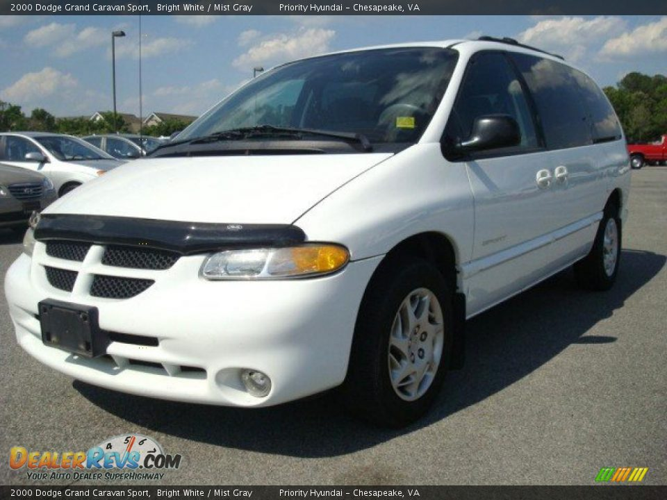 2000 dodge grand caravan sport bright white mist gray photo 1. Cars Review. Best American Auto & Cars Review