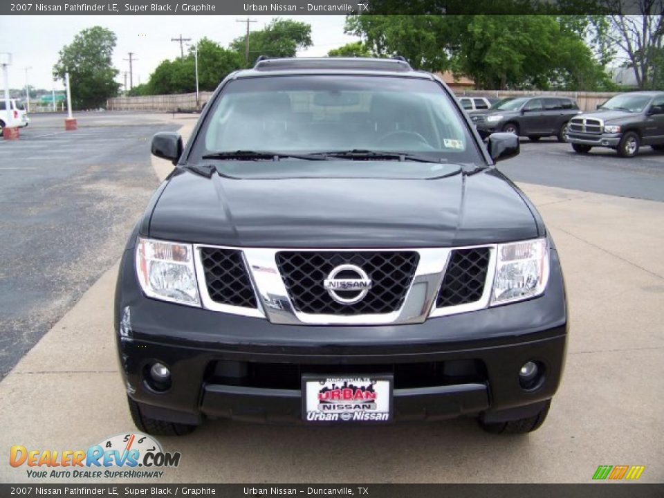 2007 nissan pathfinder le super black graphite photo 2. Black Bedroom Furniture Sets. Home Design Ideas