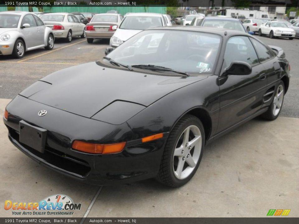 1991 Toyota Mr2 Coupe Black Black Photo 2 Dealerrevs Com