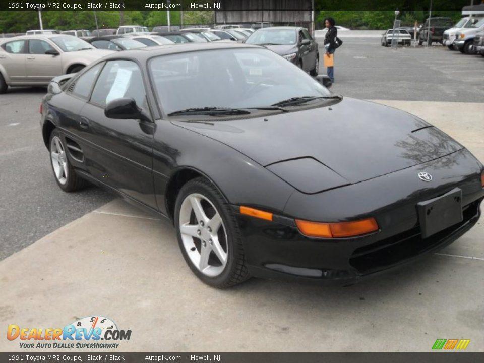 1991 Toyota Mr2 Coupe Black Black Photo 3 Dealerrevs Com