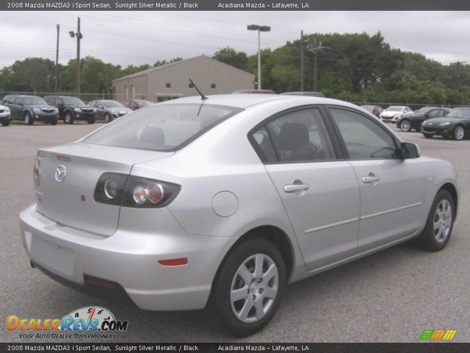 2008 mazda mazda3 i sport sedan sunlight silver metallic. Black Bedroom Furniture Sets. Home Design Ideas