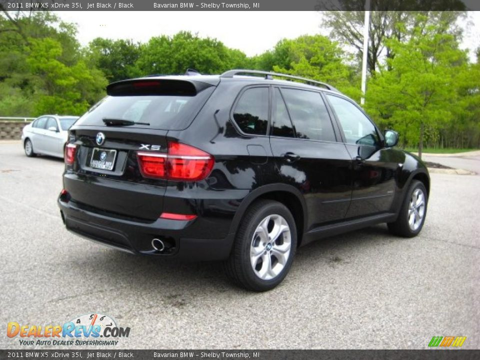 2011 Bmw X5 Xdrive 35i Jet Black Black Photo 5