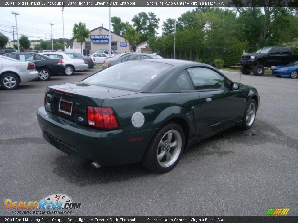2001 Ford Mustang Bullitt Coupe Dark Highland Green Dark