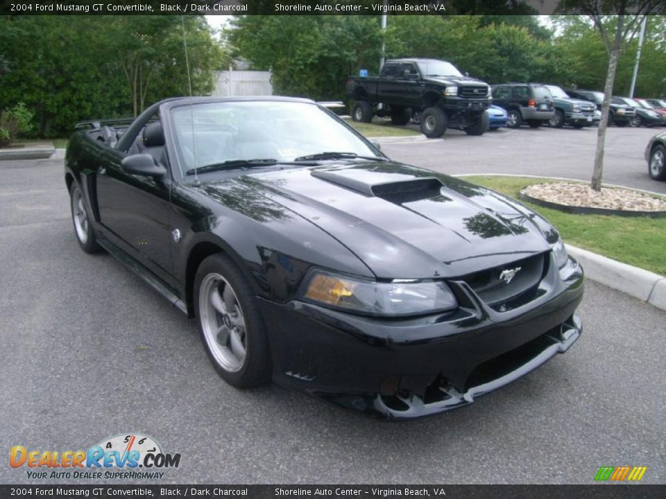 2004 ford mustang gt convertible black dark charcoal. Black Bedroom Furniture Sets. Home Design Ideas