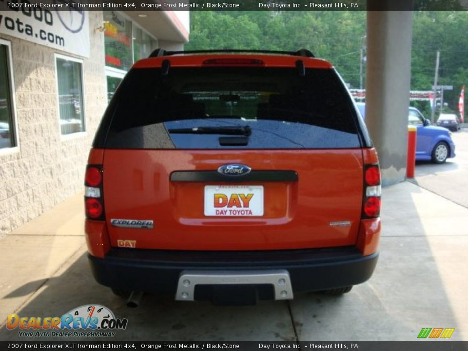 2007 Ford Explorer XLT Ironman Edition 4x4 Orange Frost ...