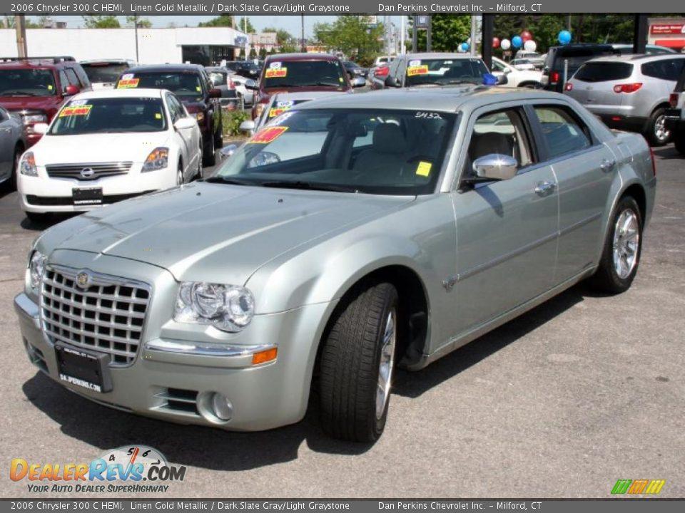 2006 Chrysler 300 C Hemi Linen Gold Metallic Dark Slate