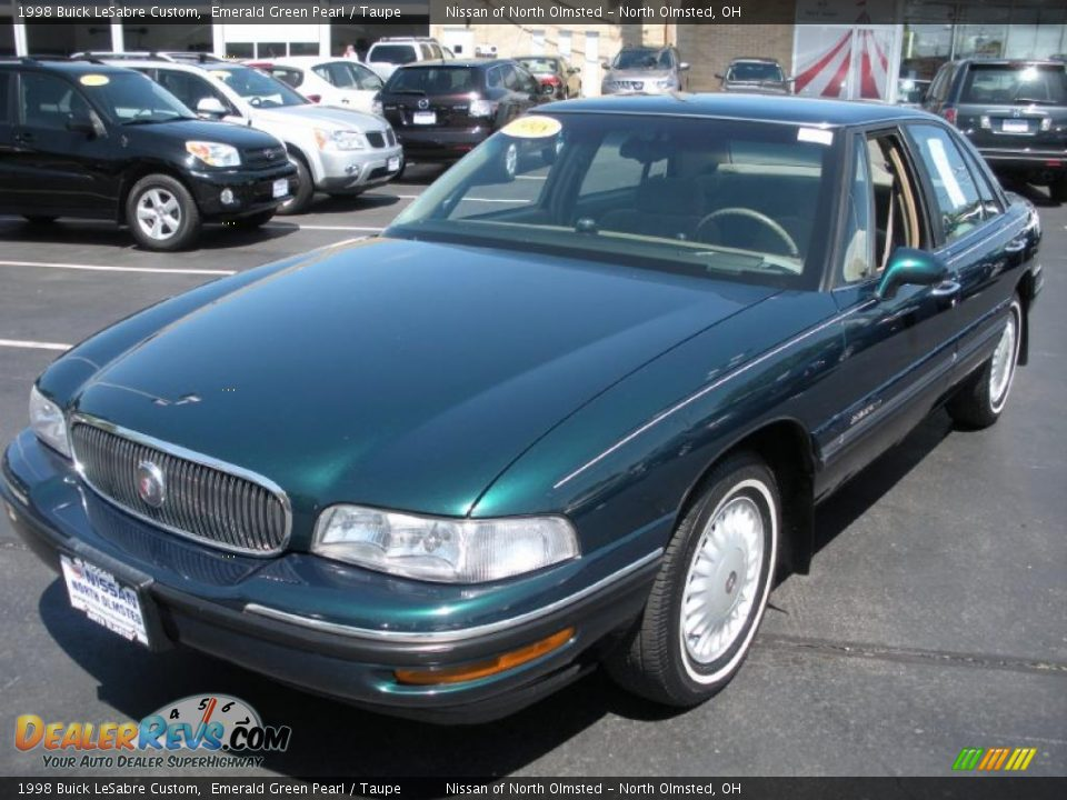 1998 Buick Lesabre Custom Emerald Green Pearl Taupe