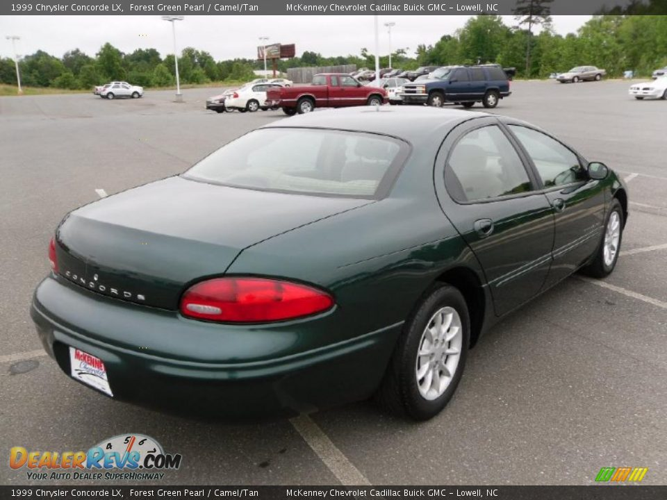 1999 chrysler concorde lx forest green pearl camel tan photo 4. Cars Review. Best American Auto & Cars Review